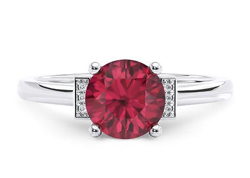 Dette design passer kun til en central diamant eller ædelsten på over 0,50ct.