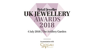 Finalist for Jewellery Designer of the Year 2018
