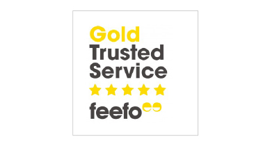 Gold Trusted Service: Feefo Awards 2019