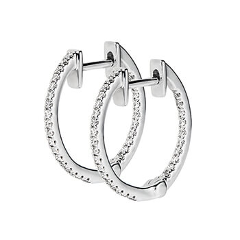 Diamond Hoops Image