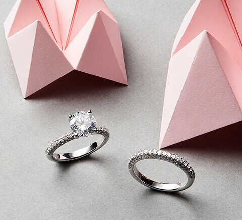 Muse Collection - Eternity and Engagement Rings