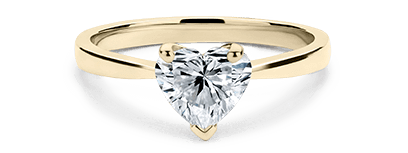 Heart Shaped Engagement Rings With A Lifetime Guarantee 77 Diamonds