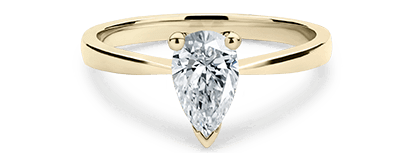 Pear Shaped Engagement Rings With A Lifetime Guarantee 77 Diamonds