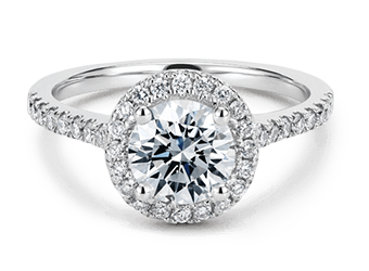 Halo Engagement Rings In Gold & Platinum At Unmissable